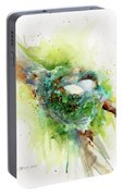 Hummingbird Nest Portable Battery Charger