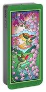 Hummingbird Sunrise Portable Battery Charger