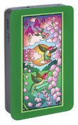 Hummingbird Sunrise Portable Battery Charger