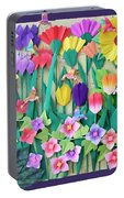 Hummingbird's Delight By Mary Ellen Palmeri Portable Battery Charger