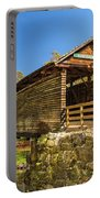 Humpback Covered Bridge In Autumn Colors Portable Battery Charger