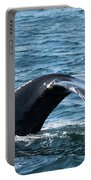 Humpback Whale Of A Tail Portable Battery Charger