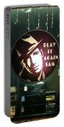 Humphrey Bogart Portable Battery Charger
