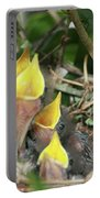 Hungry Baby Birds Portable Battery Charger