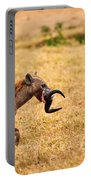 Hungry Hyena Portable Battery Charger by Adam Romanowicz
