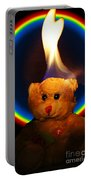 Hunk Of Burning Love Portable Battery Charger