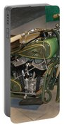 Hunter Green Indian Motorcycle...   # Portable Battery Charger