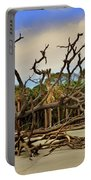 Hunting Island Driftwood Beach Beaufort Sc Portable Battery Charger
