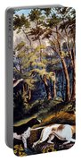 Hunting: Woodcock, 1852 Portable Battery Charger
