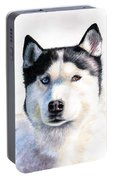 Husky Blue Portable Battery Charger