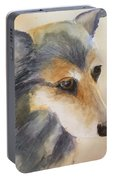 Husky Mix Portable Battery Charger