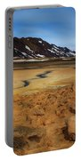Hverir Geothermal Springs Portable Battery Charger