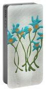 Bla Blomst Portable Battery Charger