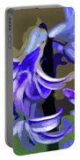 Hyacinth Digital Art Portable Battery Charger