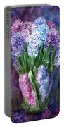 Hyacinth In Hyacinth Vase 1 Portable Battery Charger