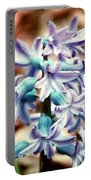 Hyacinth Photo Manipulation  Portable Battery Charger