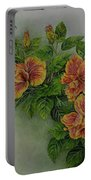 Hybrid Hibiscus Portable Battery Charger