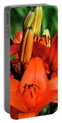 Hybrid Lilies Portable Battery Charger