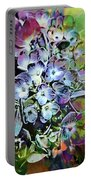 Hydrangea Abstract Portable Battery Charger