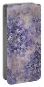 Hydrangea Blossom Abstract 1 Portable Battery Charger