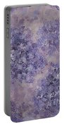 Hydrangea Blossom Abstract 2 Portable Battery Charger