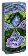Hydrangea Cross Portable Battery Charger