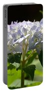 Hydrangea Four Portable Battery Charger