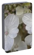 Hydrangea Fractalius Portable Battery Charger