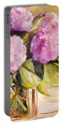 Hydrangea Heaven Portable Battery Charger