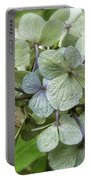 Hydrangea  In Purple And Pale Yellow Portable Battery Charger