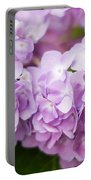 Hydrangea In Purple Portable Battery Charger