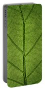 Hydrangea Leaf Portable Battery Charger