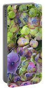 Hydrangea  One Portable Battery Charger