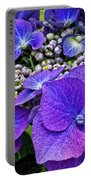Hydrangea Plant Portable Battery Charger
