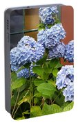 Hydrangea Window Portable Battery Charger