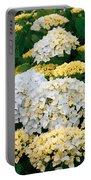 Hydrangeas Blooming Portable Battery Charger