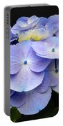Hydrangeas In Purple Portable Battery Charger