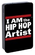 I Am The Hiphop Artist Portable Battery Charger