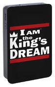 I Am The Kings Dream Portable Battery Charger