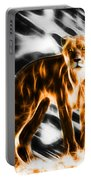 I Am The Lioness Portable Battery Charger