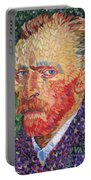 I Heart Van Gogh Portrait Of Vincent Portable Battery Charger