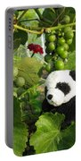 I Love Grapes Says The Panda Portable Battery Charger