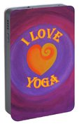I Love Yoga Portable Battery Charger