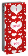 I Love You Portable Battery Charger