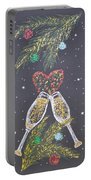 I Love You Portable Battery Charger by Georgeta  Blanaru