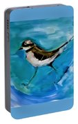 I See You Said The Killdeer As She Passed By Portable Battery Charger