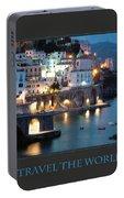 I Travel The World Amalfi Portable Battery Charger
