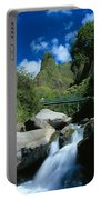 Iao Needle And Creek Portable Battery Charger