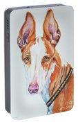 Ibizan Hound Portable Battery Charger