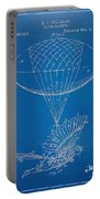 Icarus Airborn Patent Artwork Portable Battery Charger by Nikki Marie Smith